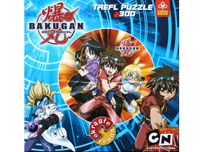 Bakugan - Battle Brawlers  Cirkel puzzle