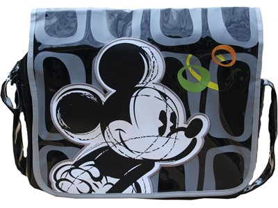 Messengerbag Mickey Grå