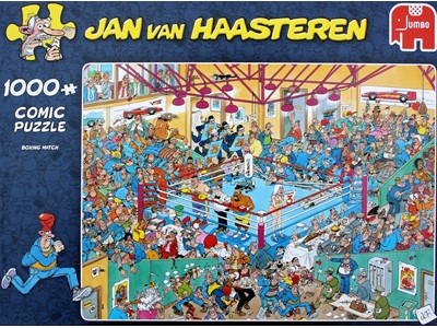 Boxing Match - Jan van Haasteren