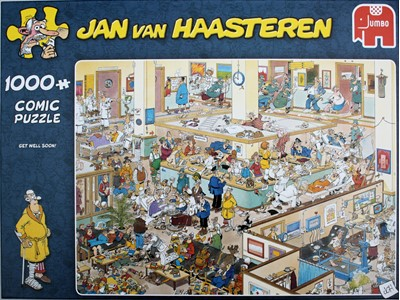 Get well Soon - jan van Haasteren