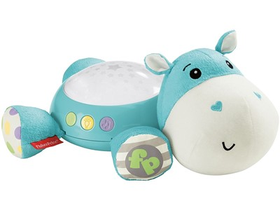 Hippo Plush Cuddle Projection Soother
